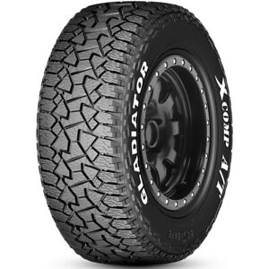 4 New Gladiator X comp A t Lt 285 65r20 Load E 10 Ply At All Terrain Tires