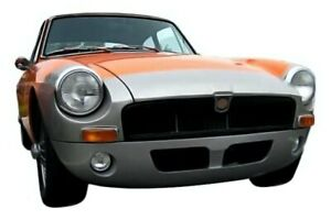 For Mg Mgb 1962 1980 Kbd Gt Style Front Bumper Lip Unpainted
