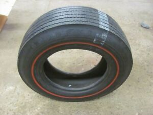Original Goodyear E70 14 Redline Tire Dated Oct 68 Cuda Real Deal