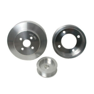 Bbk Performance 1554 3pc Aluminum Pulley Kit 94 95 Fits Mustang 5 0l