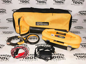 Vivax Metrotech Vlocpro2 Pipe Cable Utility Locator Transmitter Vx200 4 Clamp