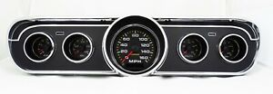 1965 1966 Ford Mustang Analog Gauges Instrument Cluster Direct Fit Dashboard Usa