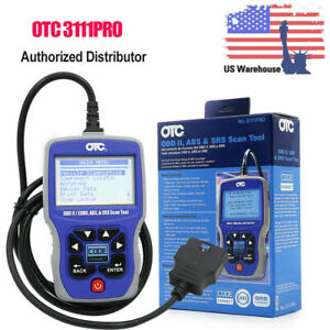 Otc 3111pro Car Diagnostic Scanner Reader Tool Obd Ii Can Abs Airbag