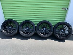 2005 2019 Ford Mustang Forgestar F14 Wheel Nitto Tire Set