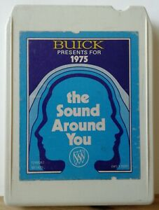 Vintage Buick 1975 Sound Around You Eight 8 Track Tape Chevy Gm Rca