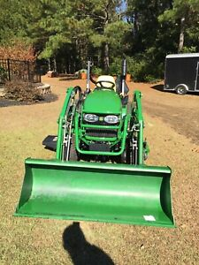 2011 John Deere 2520 Tractor With 200cx Loader And 62d Mower Deck 58 5 Hours