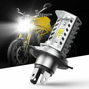 H4 9003 Hb2 Led Motorcycle Headlight Bulb Hid Hi low Beam 6500k High Power Eoa