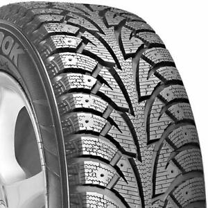 2 New Hankook Winter I pike 215 60r17 95t studdable Winter Tires