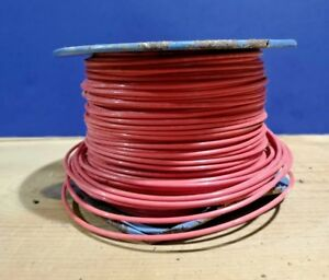 New 500 Triangle Wire 14 Awg Solid Copper 600v Thhn Thwn Red Oil Resist W1382