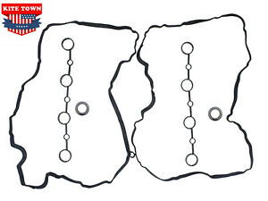 New Valve Cover Gasket Set For Porsche Cayenne V8 Spark Plug Seals And Cam Gaske