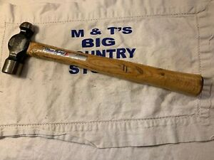 Blue Point Usa Ball Peen Hammer Model 16 Oz W Stickers Bp16b