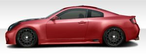 G Coupe Gt500 Wide Body Side Skirts Rocker Panels 2 Piece For G35 Infiniti