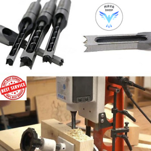Hollow Chisel Mortise Drill Tool 4pieces