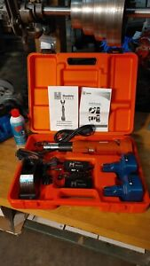 new Surplus Huskie Eco ezbg Robo Crimp Compression Tool Kit Bp 84 Batt