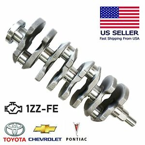 Top Quality Crankshaft For 98 08 Toyota Corolla Celica Vibe Prizm 1zzfe 1 8l