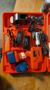 new Surplus Huskie Eco ndbg Robo Crimp Compression Tool Kit Bp 84 Batt