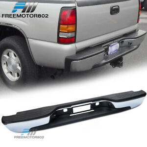 Fits 99 06 Chevy Silverado Gmc Sierra 1500 Fleetside Rear Bumper Step Pad Steel