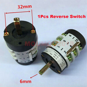 Car Tyre Machine Parts Reversing Switch Universal 20a Reverse Switch 220v 380