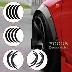 840mm 4x Universal Flexible Car Fender Flares Extra Wide Body Wheel Arches