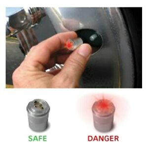 Led Air Guard Set Go Tire Pressure Monitor W Anti Theft Locking System