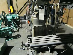 Bridgeport J Head Vertical Mill 114034
