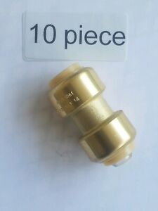 Plumbing Lot Of New 10 Pieces 1 2 Sharkbite Style Push Fit Fittings Ships Fast