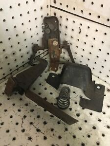 1971 1973 Cadillac Eldorado Deville Hood Latch Release Lever Assembly