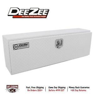 Dz70wh Dee Zee Tool Box Specialty Series Topsider Toolbox Brite Tread White