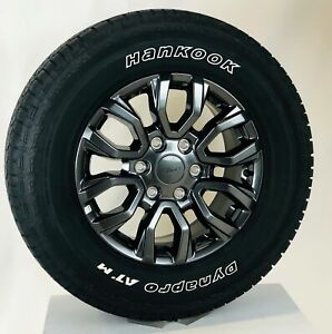 New 2019 Takeoff Ford Ranger 17 Wheels Hankook Dynapro Atm 265 65r17 Tires