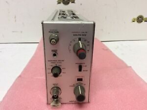 Tektronix 7a29 Amplifier Option 4 Variable Delay 7000 Series Oscilloscope Plug i