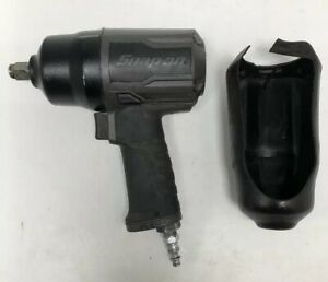 Snap On Pt850gmg 1 2 Drive Gray Pneumatic Impact Wrench Air Tool 11 000rpm Usa