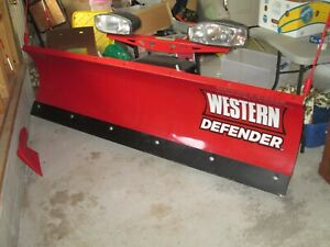 Snow Plow Western Defender Used Excellent Condition