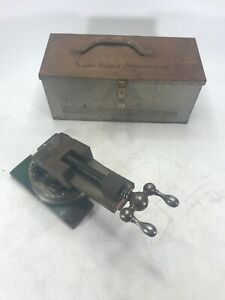 Universal Vise And Tool Company 3 Way Angle Milling Vise Grinding Vise W Case
