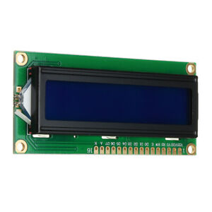 10pcs 1602 Character Lcd Display Module Blue Backlight For Arduino