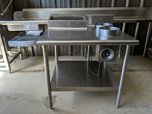 Euc Commercial Restaurant Stainless Steel 2 Well Bath Steam Warming Prep Table