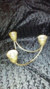 Duchin Creation Sterling Silver Tri Candle Holder