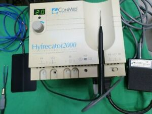Conmed Hyfrecator 2000 Electrosurgical Unit Dessicator 220v