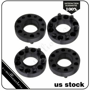 4pcs 1 5 6x135 6 Lugs 14x1 5 Studs Wheel Spacers For 2015 2017 Ford F 150 2016