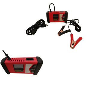 6 12v Automatic Battery Maintainer Charger Boat Car Lcd Display