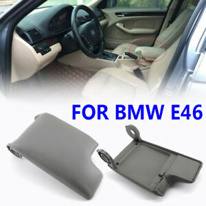 Pu Leather Armrest Center Console Lid Cover For E46 3 Series 1999 2005 Bmw