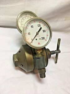 Working Airco two Stage Oxygen All Inert Gas Regulator Valve