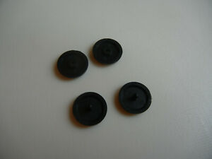Y Axis 2 Sets Seat Belt Button Buckle Clip Stop Universal Fit Stopper Kit Black