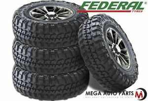 4 Federal Couragia M T Lt265 75r16 123 120q All Season Mud Terrain Truck Tires