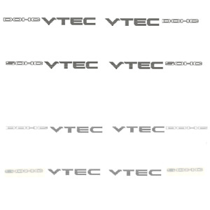 Vinyl Racing Decal Sticker For Vtec Dohc Sohc Compatible With Honda Auto Car
