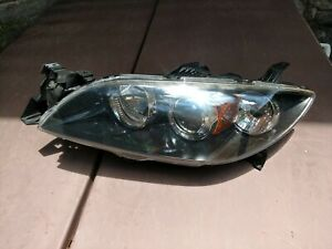 2004 2009 Mazda 3 Speed Left Driver Side Halogen Headlight 2008 2007 2006 Lt