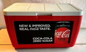Coleman ~ Coca Cola...Large 40 QT Poly Cooler...NEW