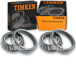 Timken Rear Differential Bearing Set For 2002 2004 Ford Explorer Sport Trac Ig