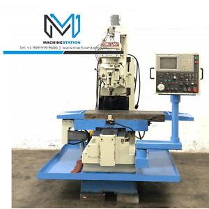 Mighty Comet Mv 5 Cnc Heavy Duty Vertical Milling Machine Bridgeport Lagun