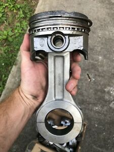 Howards Big Block Chevy Aluminum Connecting Rods With Keith Black Pistons 454