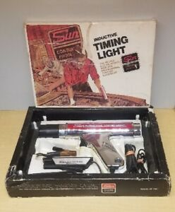 Preowned Sun Cp 7501inductive Timing Light In Box With 3 Pieces Of Literature